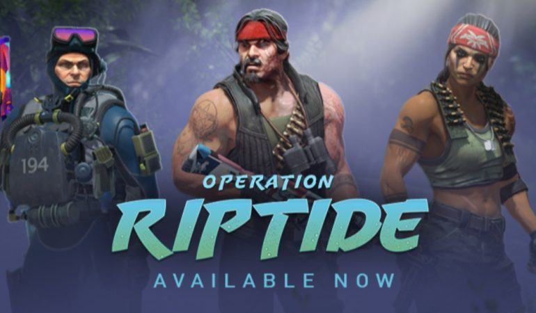 Counter-Strike: Global Offensive: Operation Riptide started