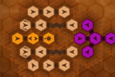 Full PC version of the strategy puzzler Hexteria from Red Bird Studios