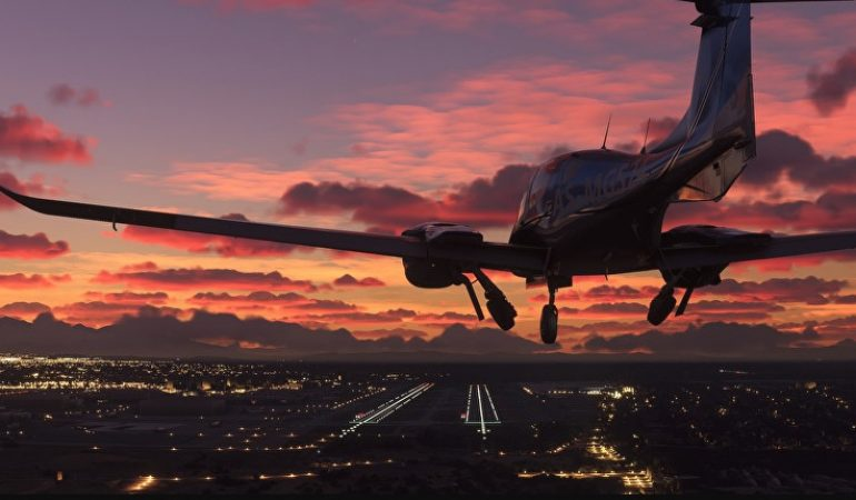 Hurricane Ida appears to be quite scary in Microsoft Flight Simulator