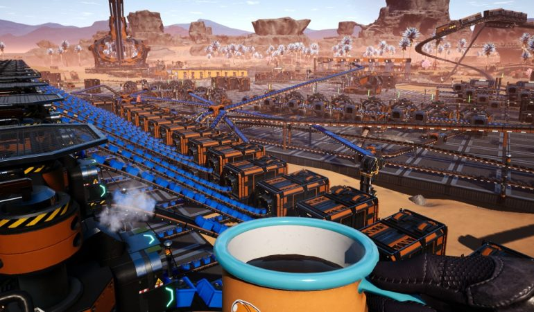 Satisfactory: Update 5: New cosmetic construction elements presented