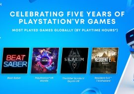 Sony celebrates five years with an overview trailer and planned free titles via PS Plus